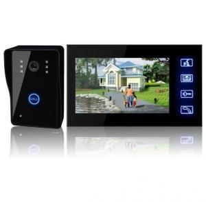 China 2.4ghz Digital Villa Video Door Phone  Water Proof , Smart Home Intercom on sale