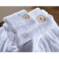 Luxury Five Star 70*140cm Hotel Bath Towel 100% Cotton With Customized Logo Manufactures