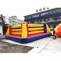 Buy cheap Outdoor Interactive Kids Inflatable Sports Games / Inflatable Boxing Ring Games from wholesalers