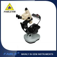 China Ellipse base Generation 3rd Swing arm type Gem Microscope F12 Trinocular lens on sale