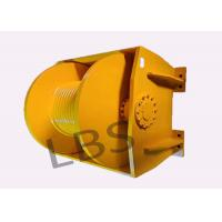 China Engineering 10 Ton Hydraulic Crane Winch Single Rope Tension One Year Warranty on sale