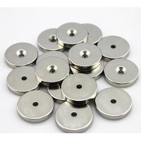 Smaller round neodymium magnets disc , circle with Thickness / axially Magnetization Manufactures