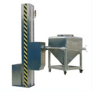 Quality Stainless Steel Pharmaceutical Mixing Equipment Bin Lifter For Post Bin Blender for sale