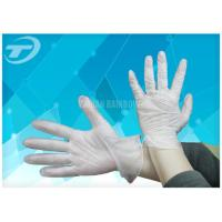 Examination Medical Disposable Gloves Powder Free Clear Vinyl Gloves Manufactures