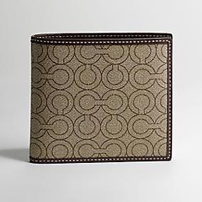 Man's elephant genuine leather wallet