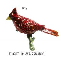 Wholesale Colorful Bird Design Metal China Jewelry Box For Gift Manufactures