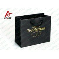 Hot Stamping Printed Custom Paper Shopping Bags For Retail Store Medium Size Manufactures