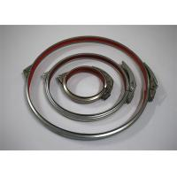 Metal Heavy Duty Pipe Clamps , Various Solid Power PIpeline Galvanized Pipe Clamp Manufactures