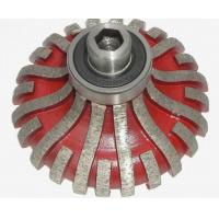 F20 F25 F30 Segmented Type Diamond Router Bits Red Color OEM / ODM Available Manufactures