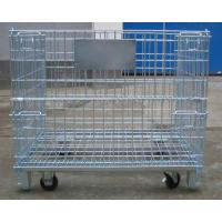 China collapsible wire mesh container on sale