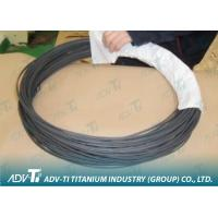 Quality Drawing grade2 ASTM B863 Black oxide Titanium Alloy Wire For airplane , ship for sale