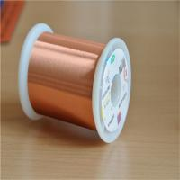 0.02mm Ultra Fine Magnet Wire Ul Certificated Transformer Enamelled Copper Wire Manufactures