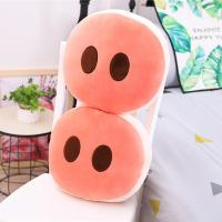 Pig Nose Style Plush Seat Cushions Machine Washable High Comfortability Manufactures