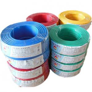 China Low voltage 100m per roll pvc coat electrical wire on sale