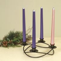 red color electroplated glass candle holder Manufactures