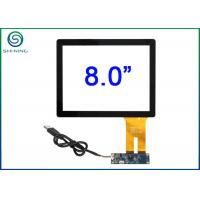 """8"""" 4:3 Capacitive Touch Panel With USB Interface for Industrial Panel PC Manufactures"""