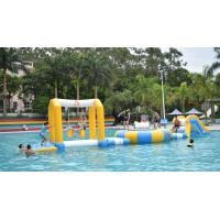 Durable PVC Tarpaulin Fabric Inflatable Water Park For 18m*6m Pool Manufactures