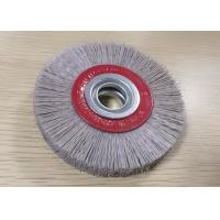China White Abrasive Nylon Wheel Brush Dupont Aluminium Oxide Wire Material on sale