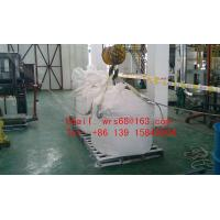 Flexible one Ton PP woven plastic Jumbo bag , Type A food storage big bags Manufactures