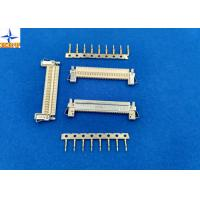 1 Row LVDS Display Connector , Wire To Board Connector 1.0mm Exact Size Equivalent Manufactures