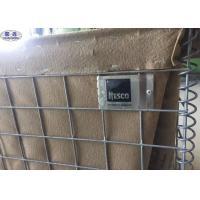 Military Hesco Blast Barrier For Security System Corrosion Resistance