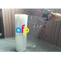 19 Mic / 21 Mic Polyolefin Shrink Film 200 - 1600mm Roll Widht Smooth Texture Manufactures