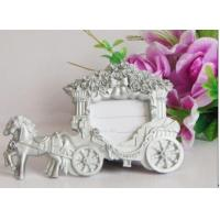Quality Resin Carriage Photo Frame Wedding Favors Home Decoration for sale