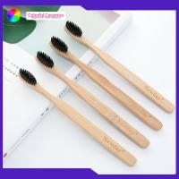 Adult Age Group Bambooeco Friendly Toothbrush 4 Pack Set For Hotel / Travel Manufactures