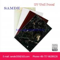 Quality waterproof bathroom wall panels with marble look  2440*1220*6/8/9mm for sale