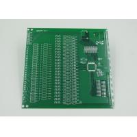 Silver Plated Controlled Impedance PCB with 2mil Trace Green Soldermask Manufactures