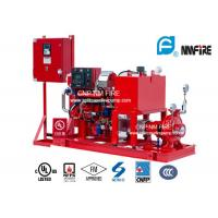 High Precision Diesel Engine Driven Fire Fighting Pump Centrifugal 175PSI / 404 Feet Manufactures