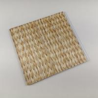 Bamboo Style Laminating PVC Wall Panels , PVC Bathroom Wall Cladding Decoration Manufactures