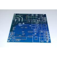Professional Computer Circuit Board Blue Colors Soldmask Quickturn Prototype Pcb Manufactures