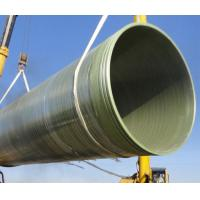 China FRP Chemical Resistance Pipe on sale