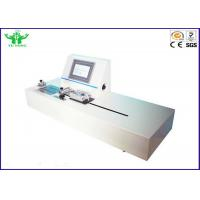 ASTM F1921 Flexible Package Hot Tack Testing Machine with PLC Control Manufactures