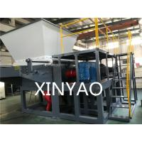 85r / pm Plastic Shredder Machine Single Shaft Automatic Movable Chamber XB-64160 Manufactures