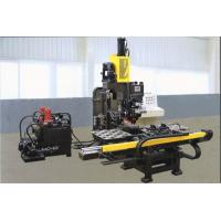 1000 KN CNC  Punch Machine Hydraulic Punching Marking / Drilling Machine For Metal Sheet Manufactures