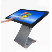 43 Inch FHD Interactive Touch Screen Table , Metal Frame Advertising Digital Signage Manufactures