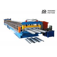Automatic Steel Profile Roll Forming Machine , Easy Operate Metal Roof Panel Machine Manufactures
