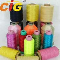 Dyed Strong Nylon Thread 210D/3/6/9 For Sewing PU / PVC Leather & Sofa Manufactures