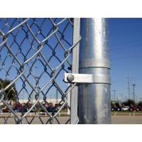 """1"""" 2"""" Flexible Plastic Coated Chain Link Fencing For Hillside Protection Manufactures"""