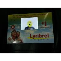 CMYK Promotional LCD Video Brochure Greeting Card With Rechargeable Battery Manufactures