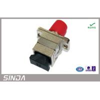 Adaptor Type Fiber Optic Attenuator SC FC Hybrid Low Insertion Loss Manufactures