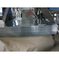 Big Spangle For Outer Walls Hot Dipped Galvanized Zinc Steel Sheet / Sheets Manufactures