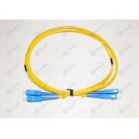 Buy cheap 0.3dB Insertion Loss Armored Fiber Optic Patch Cable Duplex 3M Fiber Jumper from wholesalers
