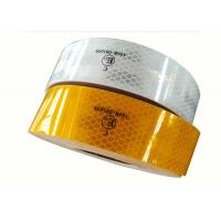 China Prismatic Truck Yellow Reflective Tape On Commercial Vehicles Self Adhesive Waterproof on sale