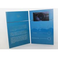 Buy cheap Electronic magnetic button lcd video mailer for education / graduations , A4 / A5 size from wholesalers