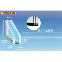 China Solid Insulated Tempered Glass Double Glazing / Triple Glazing For Windows , 3660mmx15000mm on sale