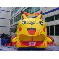 inflatable cartoon ball pool bouncer castle BO131 Manufactures