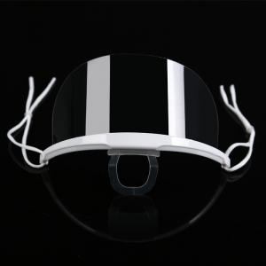 Lightweight Droplets Prevention Transparent Plastic Face Mask Manufactures